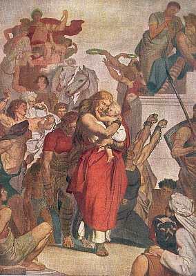 Thusnelda im Triumphzug des Germanicus