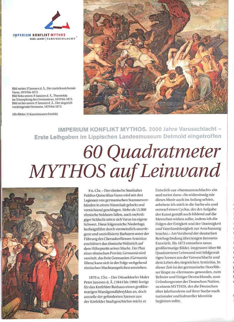Mythos auf Leinwand